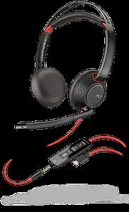 Plantronics Blackwire C5220 USB-C Jack 3,5 стерео гарнитура