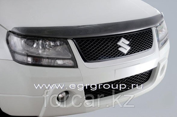 Дефлектор капота EGR карбон Suzuki Grand Vitara 2005-, фото 2