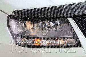 Защита передних фар EGR карбон, SIM темный Suzuki Grand Vitara 2005-