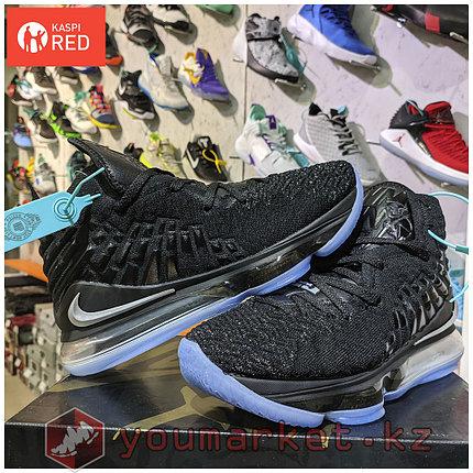 "Баскетбольные кроссовки Nike Lebron 17 (XVII ) ""Black"" sneakers from LeBron James, фото 2"