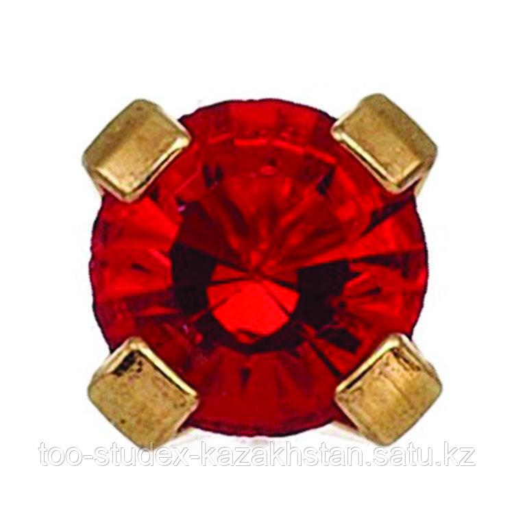 7511-0107 Серьги-иглы System75™ с цветными кристаллами