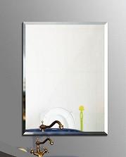 Зеркало простое размер 60 см на 45 см квадратное.