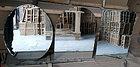 Зеркало простое размер 60 см на 45 см квадратное., фото 2