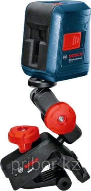 Лазерный профессиональный нивелир Bosch GLL 2 с клипсой MM2.