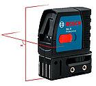Лазерный профессиональный нивелир Bosch GLL 2 с клипсой MM2., фото 2