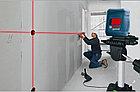 Лазерный профессиональный нивелир Bosch GLL 2 с клипсой MM2., фото 4
