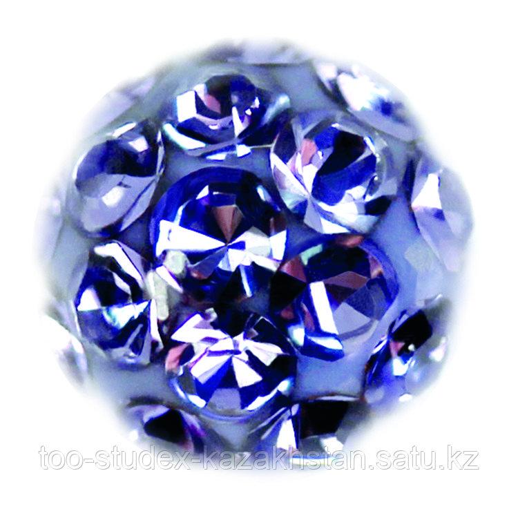 """Серьги-иглы System75™ """"Fireball"""" с кристаллами"""