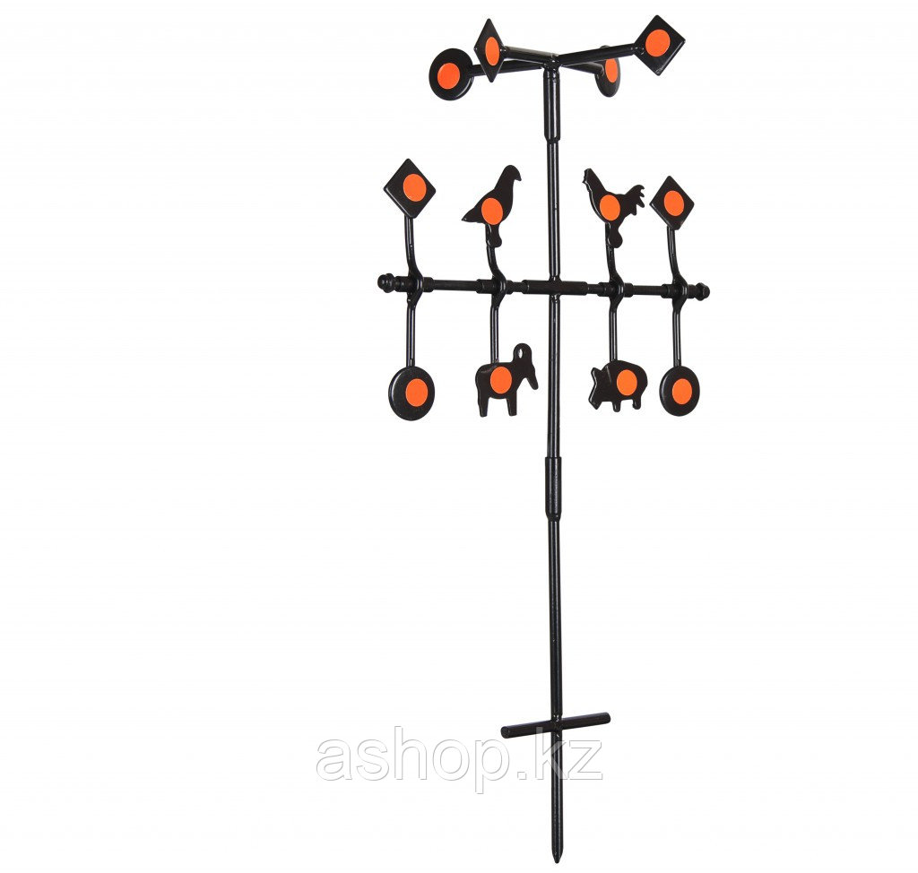 Стенд с мишенями Gamo SPINNER TARGET DELUXE, Кол-во мишеней: 12, Цвет: Чёрный