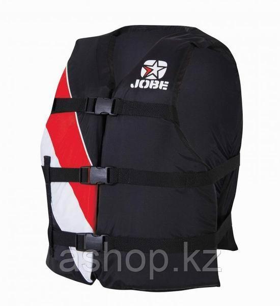 Спасательный жилет Jobe Universal Red, 40-100 кг, Класс: EN396, Цвет: Черный/Красный, (75466)