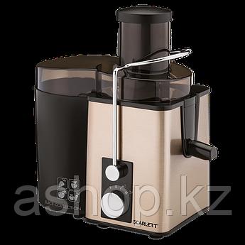 Соковыжималка центробежная для овощей и фруктов Scarlett SC-JE50S35, 1000 Вт, Объем сока: 0,6 л, Диаметр отвер