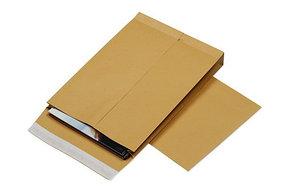 Конверт В4 (250х353х40 мм) пакет, с расширением, коричневый