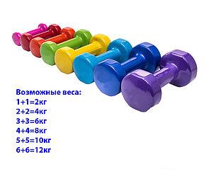 Фитнес гантели по 2 кг