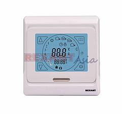 Терморегулятор сенсорный с автоматическим программированием REXANT, R91XT, 3680 Вт, (51-0533 )