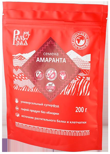 """Семена Амаранта, 400г """"Радоград"""""""