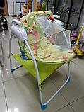 Электрокачели детские Baby Cradle, фото 4