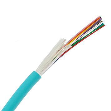 ВО кабель внутренний, Distribution, LSZH, 12 волокон,  MM, OM3, аква