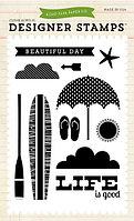 Набор штампов - Beach Day