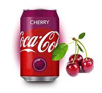 Coca-Cola Cherry Вишня 355ml США (12шт-упак)
