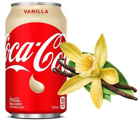 Coca-Cola Vanilla 355ml США (12шт-упак)