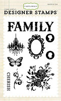 Набор штампов  - Celebrate Family 4x6