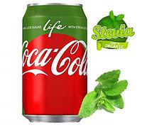 Coca-Cola Life стевия БЕЗ САХАРА 355ml США (12шт-упак)
