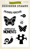 Набор штампов -  Happy Little  Moments