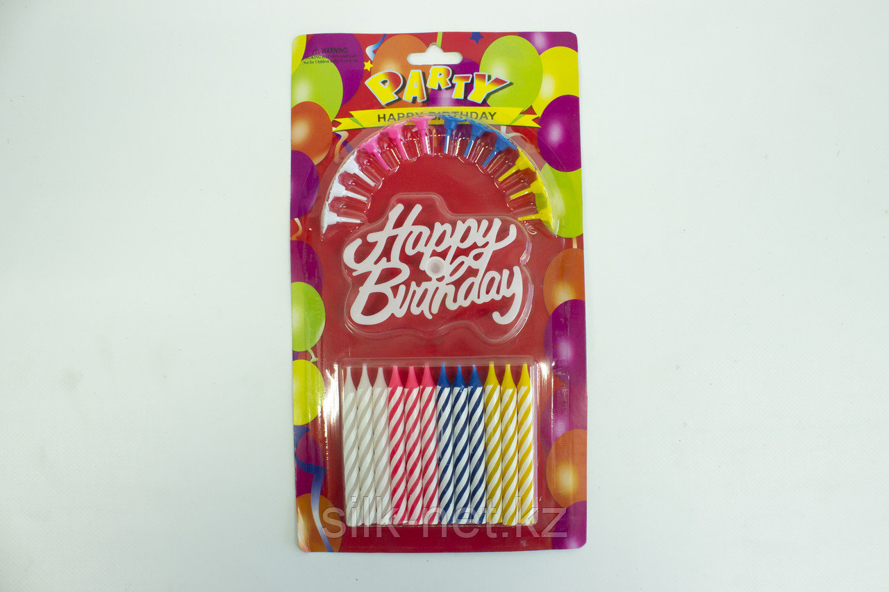 "Свечи для торта ""Party"""