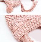 Шапочка осенне-зимняя, цвет розовый, фото 2