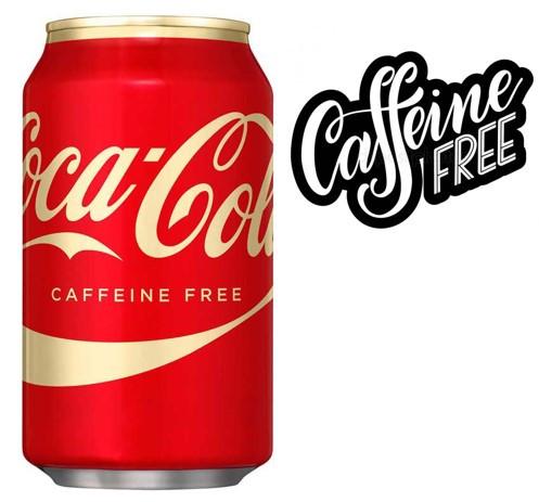 Caffeine-Free Coca-Cola 355ml США (12шт-упак)