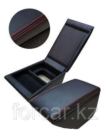 Подлокотник «NISSAN TERRANO» черный/черный/красный, фото 2