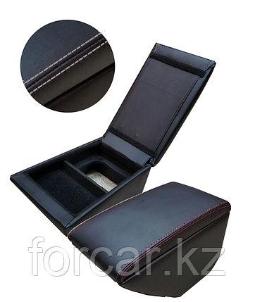 Подлокотник «SKODA RAPID» черный/черный/серый 41246, фото 2