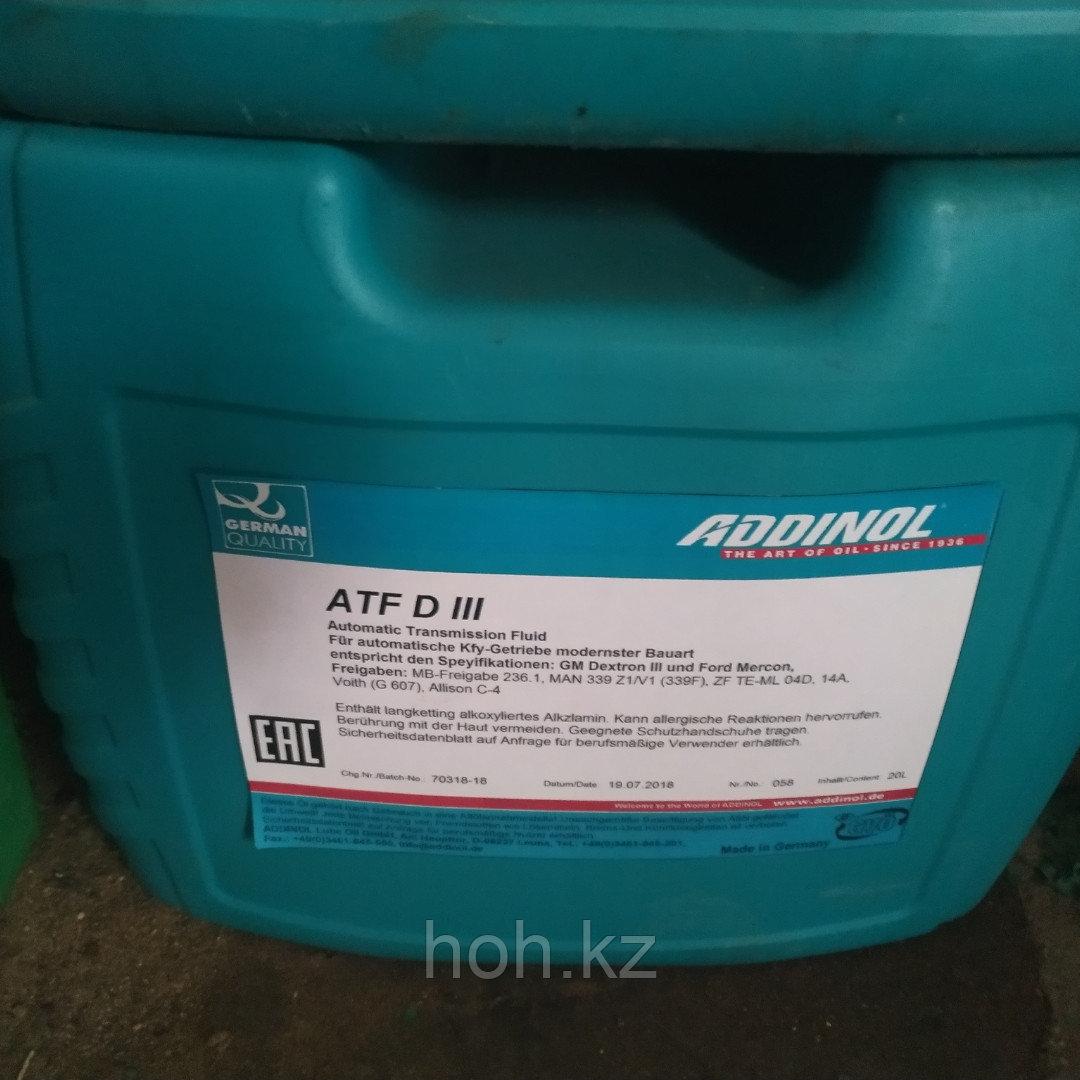 Трансмиссионное масло ADDINOL ATF D III Dexron (G)