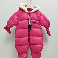 Комбинезон зимний Chicco для новорожденных. Розовый., фото 1
