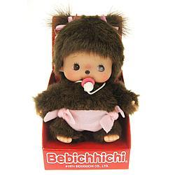 Bebichhichi 15 см девочка в подгузнике Monchhichi