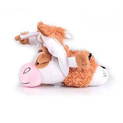 Мягкая игрушка Gulliver, Игрушка – перевертыш Лисичка-Корова 35 см