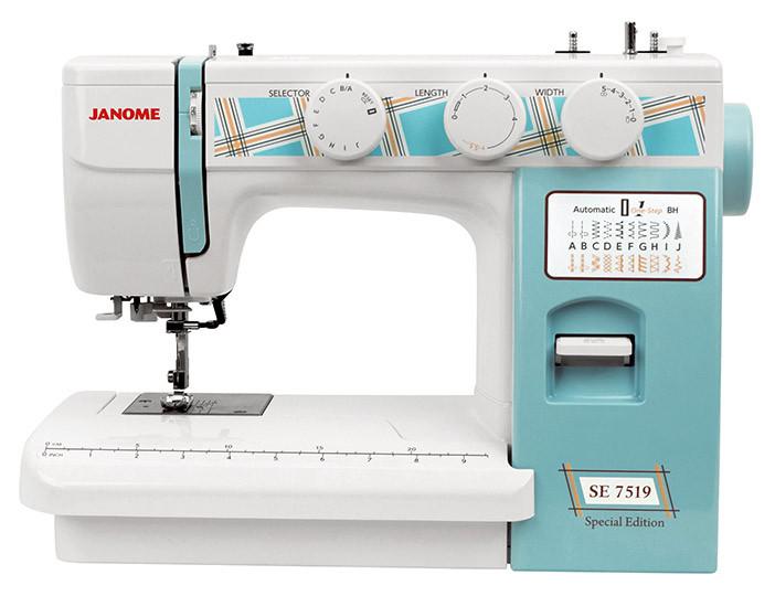Janome SE 7519 Электромеханическая швейная машина