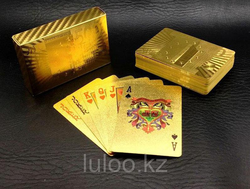 Карты для покера EURO, игральные карты, 54 карт. - фото 2