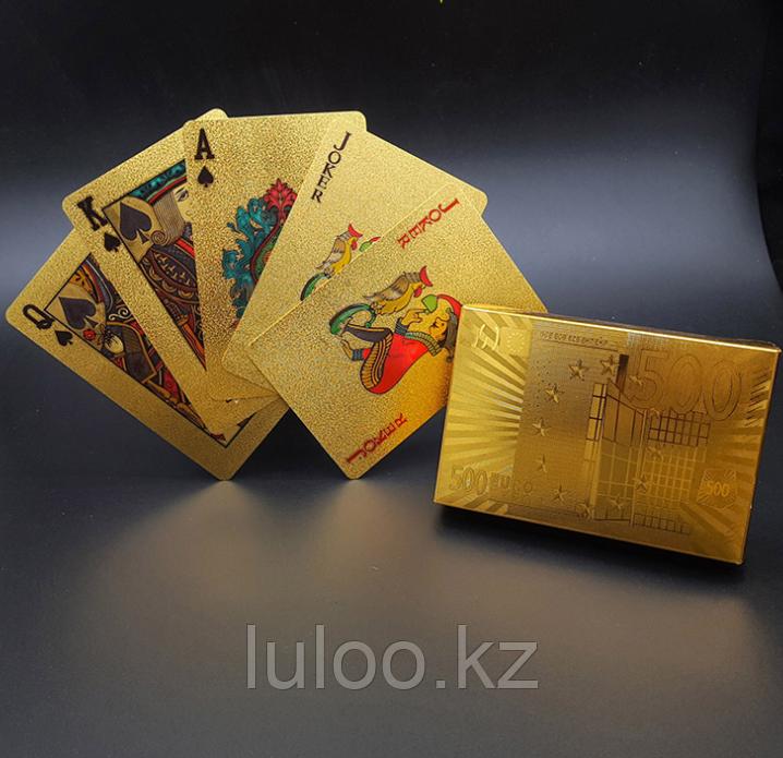 Карты для покера EURO, игральные карты, 54 карт. - фото 1