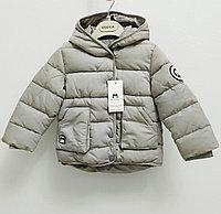"""Куртка осенняя для мальчиков """"Mother`s babybear"""" от 3 до 8 лет, серая., фото 1"""