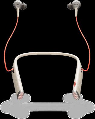 Plantronics Voyager B6200 USB-A UC Sand беспроводная гарнитура