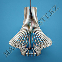 Люстра - светильник  из дерева. №3, фото 1