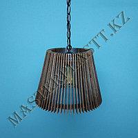 Люстра - светильник  из дерева. №4, фото 1