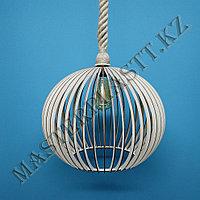 """Люстра - светильник """"Шар"""" из дерева. №6, фото 1"""