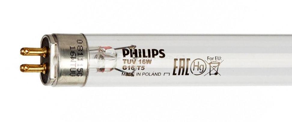 Лампа бактерицидная Philips TUV 16W G8T5