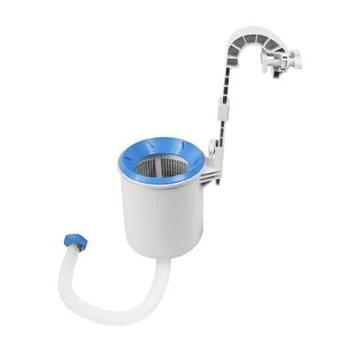Скиммер для чистки бассейна Intex 28000,,, Пластик, Цвет: Бело-голубой