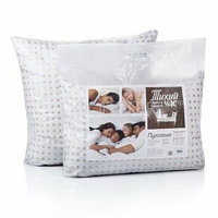 Подушка полу-пуховая размер 50*70 см «Тихий час»