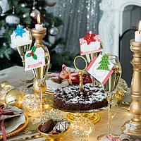 Декор столовый «Новогодний» на прищепке