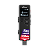 Диктофон Ritmix RR-610, 4 Gb, MP3, WAV, Время записи: SHQ 49ч., HQ - 73 ч., MQ - 290 ч., LP - 583 ч., Матричны, фото 7