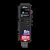 Диктофон Ritmix RR-610, 8 Gb, MP3, WAV, Время записи: SHQ 49ч., HQ - 73 ч., MQ - 290 ч., LP - 583 ч., Матричны, фото 2
