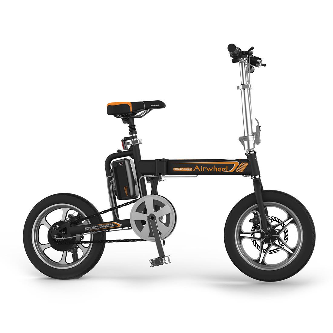 Велосипед электрический Airwheel R5B, Скорость (max.): 20 км/ч, Запас хода: 40 км, Нагрузка: 100 кг, Угол подъ